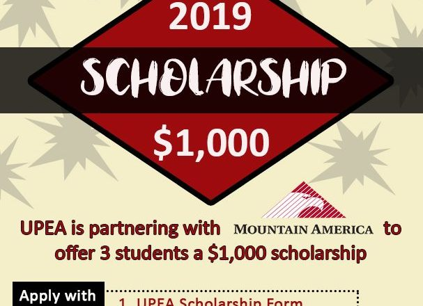 Apply for the UPEA/MACU Scholarship by March 1   Utah Public
